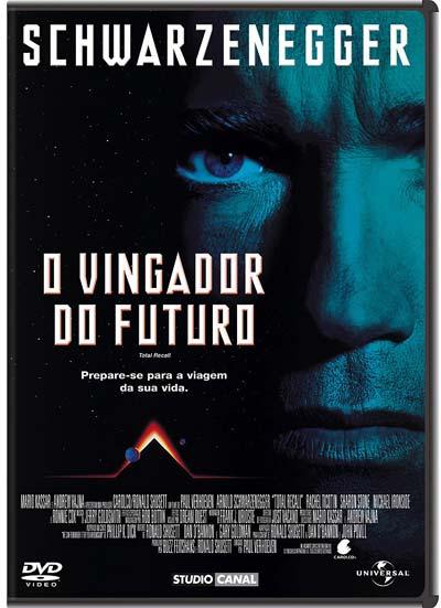 Filme Poster O Vingador do Futuro DVDRip RMVB Dublado